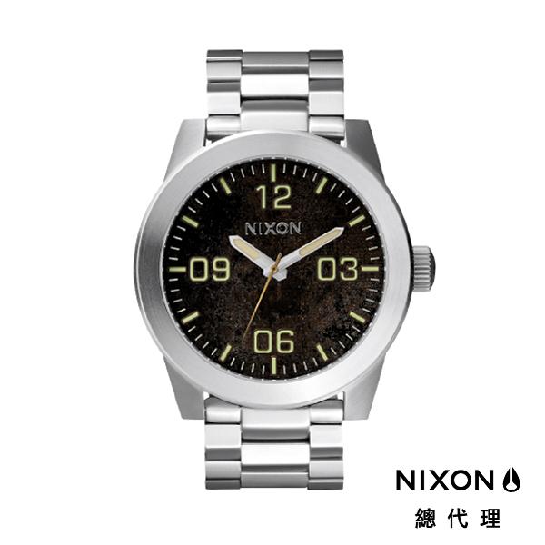 【官方旗艦店】NIXON CORPORAL SS 型男熱銷款 銀 潮人裝備 潮人態度 禮物首選