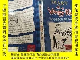 二手書博民逛書店DIARY罕見of a Wimpy Kid ; 懦 弱孩子的. 日記Y200392