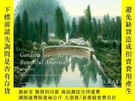 二手書博民逛書店Gardens罕見for a Beautiful America