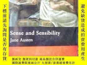二手書博民逛書店Sense罕見and Sensibility: - Interm