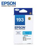 EPSON 原廠標準型藍色墨水匣 T193250 (WF-2531/2631)