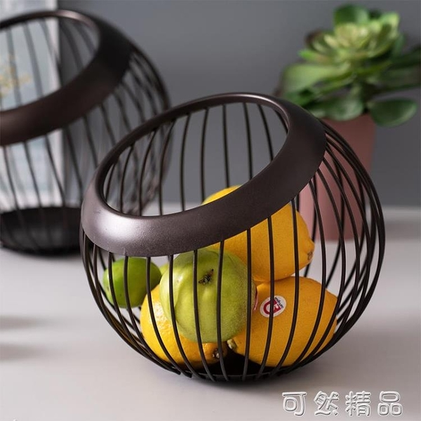 北歐ins風水果籃 客廳家用水果盤現代簡約果籃 創意茶幾瀝水果盆 雙12全館免運