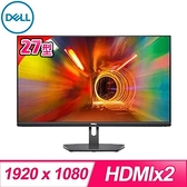 【南紡購物中心】DELL 戴爾 S2721NX 27型 IPS 超薄邊框液晶螢幕《原廠三年保固》
