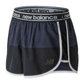 "NB DRY 2.5"" 女 深藍 黑 運動短褲 慢跑褲 瑜珈褲 透氣 運動褲 New Balance 反光 AWS81146BGR"