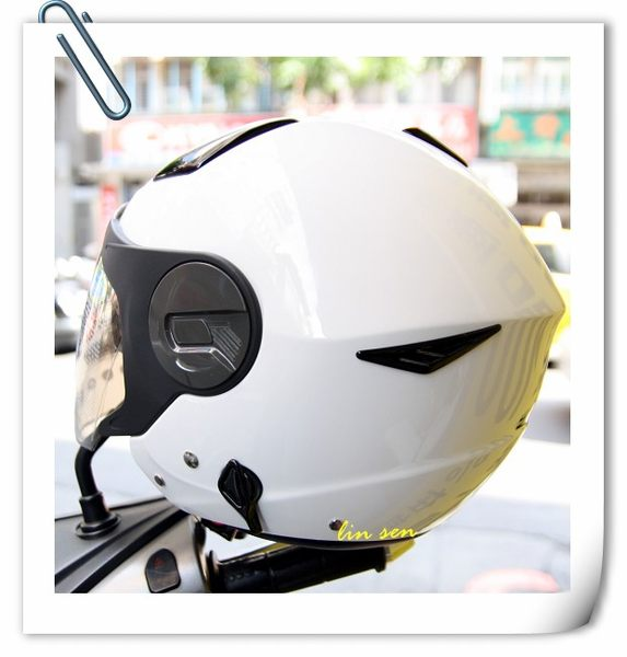 ZEUS瑞獅安全帽,ZS-612A,素色/白