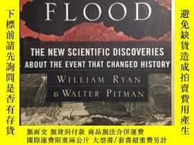 二手書博民逛書店Noah s罕見Flood: The New Scientifi