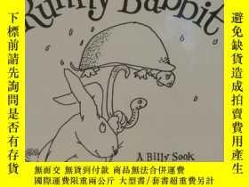 二手書博民逛書店謝爾·希爾弗斯坦罕見繪本 Runny Babbit A Bill