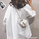網紅迷你小包包女包新款純色錬條包流蘇個性chic側背斜背包潮 黛尼時尚精品