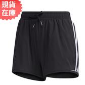 【現貨】ADIDAS 3-STRIPES 女裝 短褲 慢跑 訓練 健身 無內襯 黑【運動世界】GJ9031