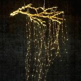 滿天星燈樹枝銅線燈星星燈LED彩燈閃燈串燈房間裝飾創意小掛燈ATF 雙12購物節