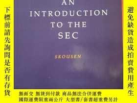 二手書博民逛書店AN罕見introduction to the secY1765