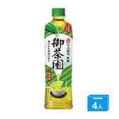 御茶園特撰日式綠茶PET550MLx4【愛買】
