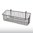長方形掛籃(咖啡) 平面網 吊籃 收納置物籃 鐵網籃-運費另計