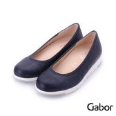德國GABOR 冷調金屬色平底娃娃鞋 深藍 82.610.66 女鞋