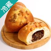 軟式歐包系列-養生黑豆核桃/2個(100G±5%/個)【愛買冷藏】