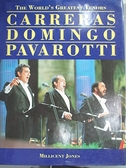 【書寶二手書T2/音樂_EAK】Worlds Greatest Tenors Carreras Domingo_Mill
