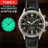TIMEX美國第一品牌waterbury 160周年限量紀念計時腕錶TW2P64900公司貨/情人節/禮物/聖誕節