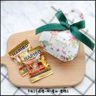 (綠緞)熱帶雨林盒+德國小熊軟糖x2小包(需DIY組裝)-二次進場/迎賓擺桌/生日分享/抽獎禮/活動禮