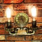 〔3699shop〕loft復古咖啡廳工業風裝飾檯燈 美式餐廳酒吧鐵藝水管壁燈
