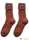 羊毛襪高腰長襪女堆堆襪日系中筒襪加厚長筒【小獅子】