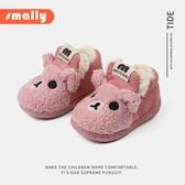 兒童棉鞋2-3歲男童冬季加絨加厚保暖童靴女童小孩寶寶小熊毛毛鞋 『居享優品』 『居享優品』