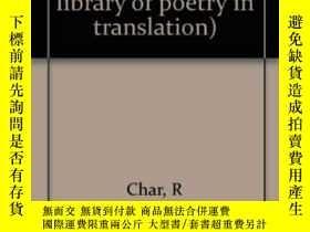 二手書博民逛書店Poems罕見Of Rene CharY255562 Rene Char Princeton Universi