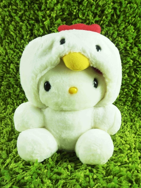 【震撼精品百貨】Hello Kitty 凱蒂貓~KITTY生肖絨毛娃娃-雞