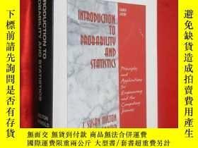 二手書博民逛書店Introduction罕見to Probability and