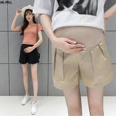孕婦褲-孕婦短褲夏季款時尚外穿寬鬆闊腿孕婦褲子夏薄款潮媽 聖誕節禮物大優惠