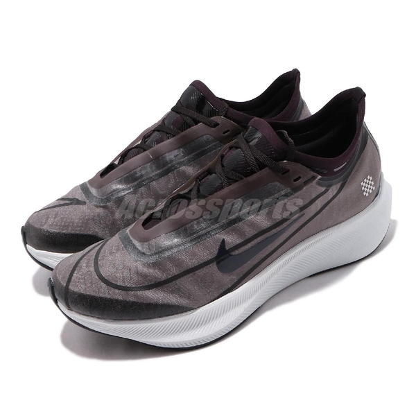 Nike 慢跑鞋 Wmns Zoom Fly 3 PRNT PRM 黑 藍 女鞋 運動鞋 【ACS】 BV7756-001
