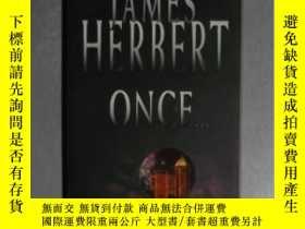 二手書博民逛書店英文原版罕見Once by James Herbert Y140
