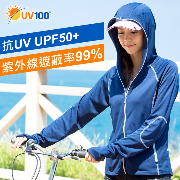 快速出貨 UV100抗UV-口罩連帽防曬外套 戶外運動輕薄款式