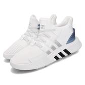 adidas 休閒鞋 EQT Bask ADV 白 銀 藍 男鞋 運動鞋 【PUMP306】 EE5025