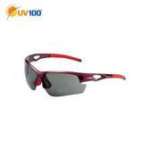 UV100 防曬 抗UV Polarized太陽眼鏡-酷炫運動墨鏡