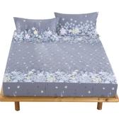 床包全棉床笠單件純棉床套夾棉加厚床罩席夢思保護套1.8m床防塵罩床包