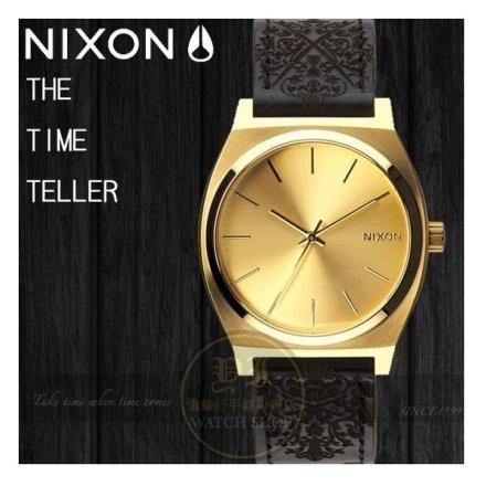 【南紡購物中心】NIXON實體店TIME TELLER聯名款限量腕錶GOLD / ORNATE A045-1882公司貨