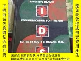 二手書博民逛書店AIDS罕見Effective Health Communica