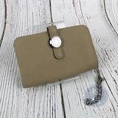 BRAND楓月 HERMES 愛馬仕 C刻 奶茶色 牛皮 DOGON 鑰匙包 卡包 零錢包