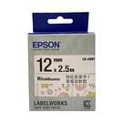 EPSON LK-4SBY 拉拉熊標籤帶 原廠標籤帶 草莓派對款 粉紅底黑字