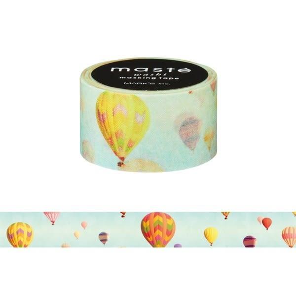 紙膠帶 SEIO 日本官方授權 Masté 日本製 和紙 紙膠帶 Multi Nature Balloon 好天氣熱汽球