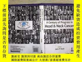 二手書博民逛書店A罕見Century of Progress in Head a