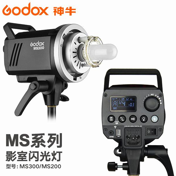 EGE 一番購】GODOX【MS300】輕巧玩家棚燈300Ws 內建X1無線系統【公司貨】
