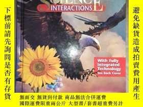 二手書博民逛書店(TEACHER罕見WRAPAROUND EDITION) SCIENCE INTERACTIONS Course