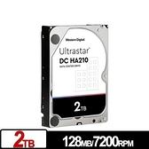 WD Ultrastar DC HA210 2TB 3.5吋 SATA 企業級硬碟 HUS722T2TALA604