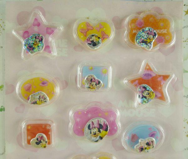 【震撼精品百貨】Micky Mouse_米奇/米妮 ~貼紙-浮動