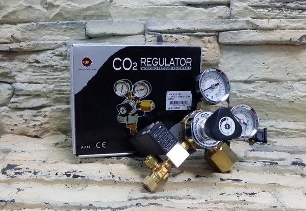 【西高地水族坊】台灣雅柏UP 雙錶電磁閥  可調輸出壓力 二氧化碳CO2鋼瓶出氣控制(A-165)