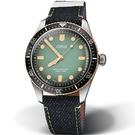Oris Divers65 聯名日本Momotaro牛仔布時尚腕錶 0173377074337-Set