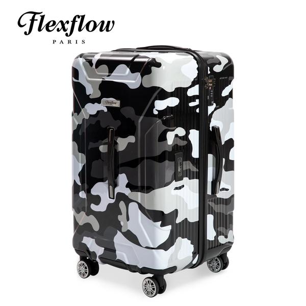 Flexflow 黑迷彩 29型 特務箱 智能測重 防爆拉鍊旅行箱 南特系列 29型行李箱【官方直營】