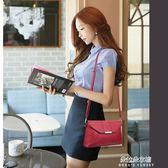 女士包包新款潮韓版時尚百搭單肩斜挎女包軟皮中年媽媽小包包  朵拉朵衣櫥