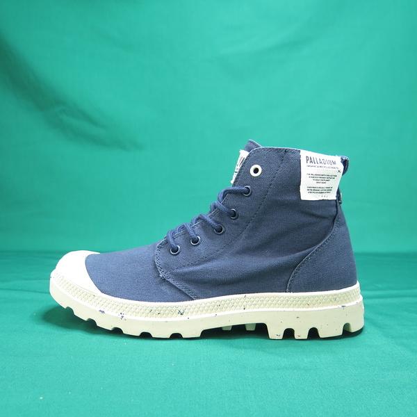 Palladium PAMPA HI ORGANIC 高統靴 正品 06199458 丈青色 男款【iSport愛運動】